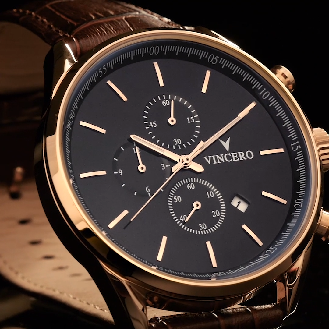 Chrono S - Rose Gold. Featured in GQ
