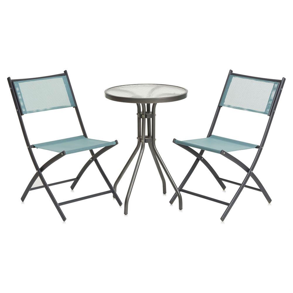 Wilko Folding Bistro Set | Wilko | SS17 Outdoor Furniture | Pinterest