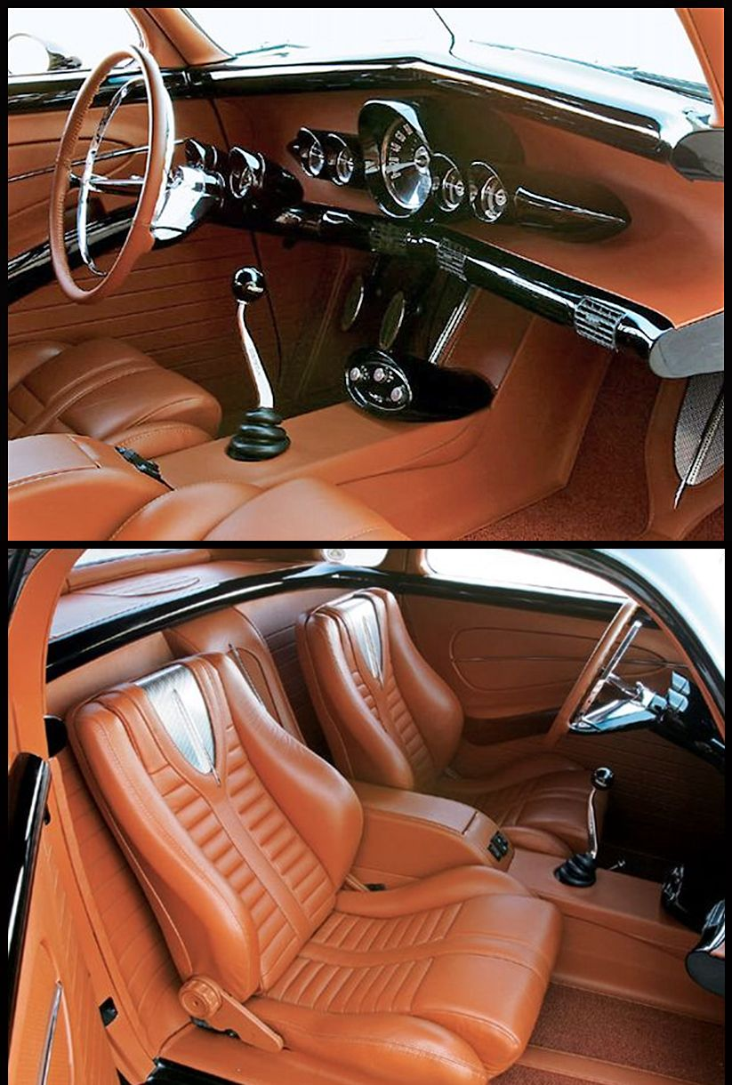 38 Chevy coupe interiorbeautiful work! Luxury car