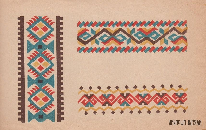 Старинные схемы вышивки крестом: практика для новичков 114