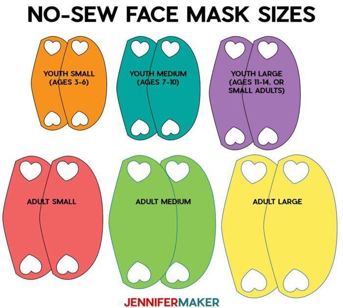 Photo of Make a No-Sew Face Mask From a T-Shirt! – Jennifer Maker