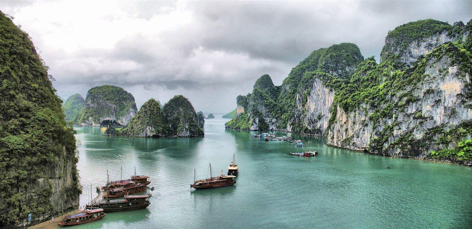 vietnam landscape - Google Search | Dazzling Destinations ...