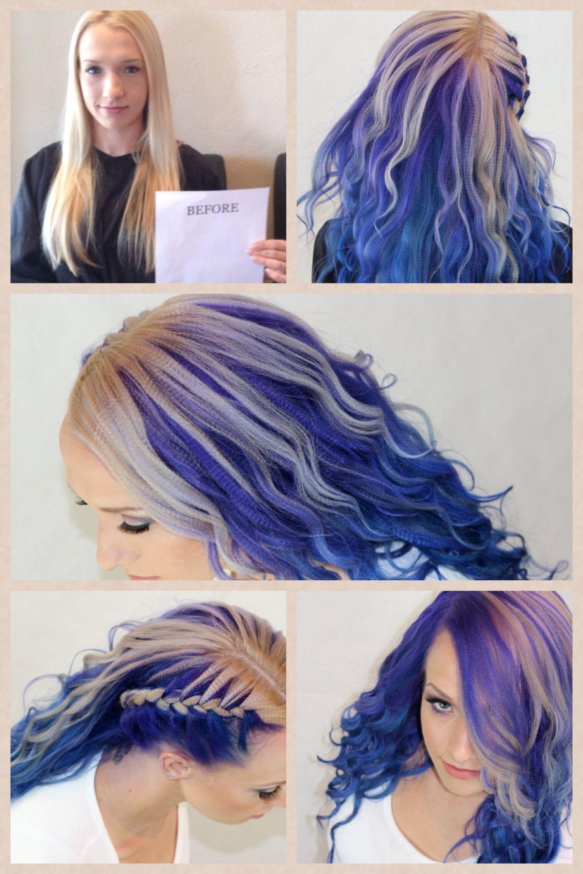 Pravana Transformation Pravana Alternative Hair Hair Inspiration Funky Hair Colors