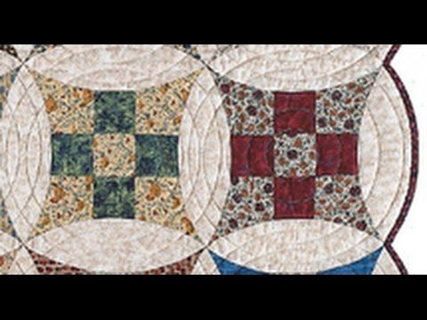 Fons & Porter: Piecing Glorified Nine Patch Quilt Patterns ... : youtube quilting ideas - Adamdwight.com