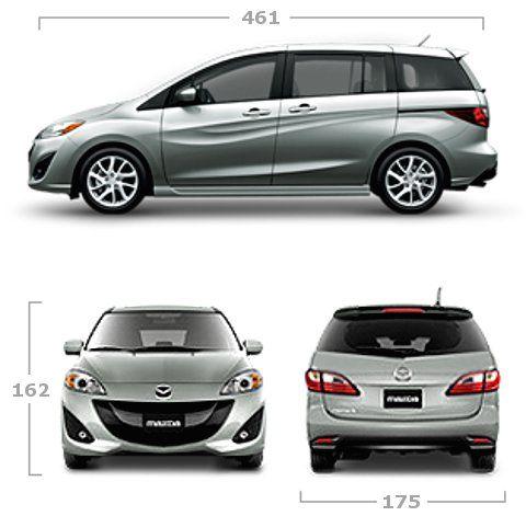 Dimensioni Mazda 5