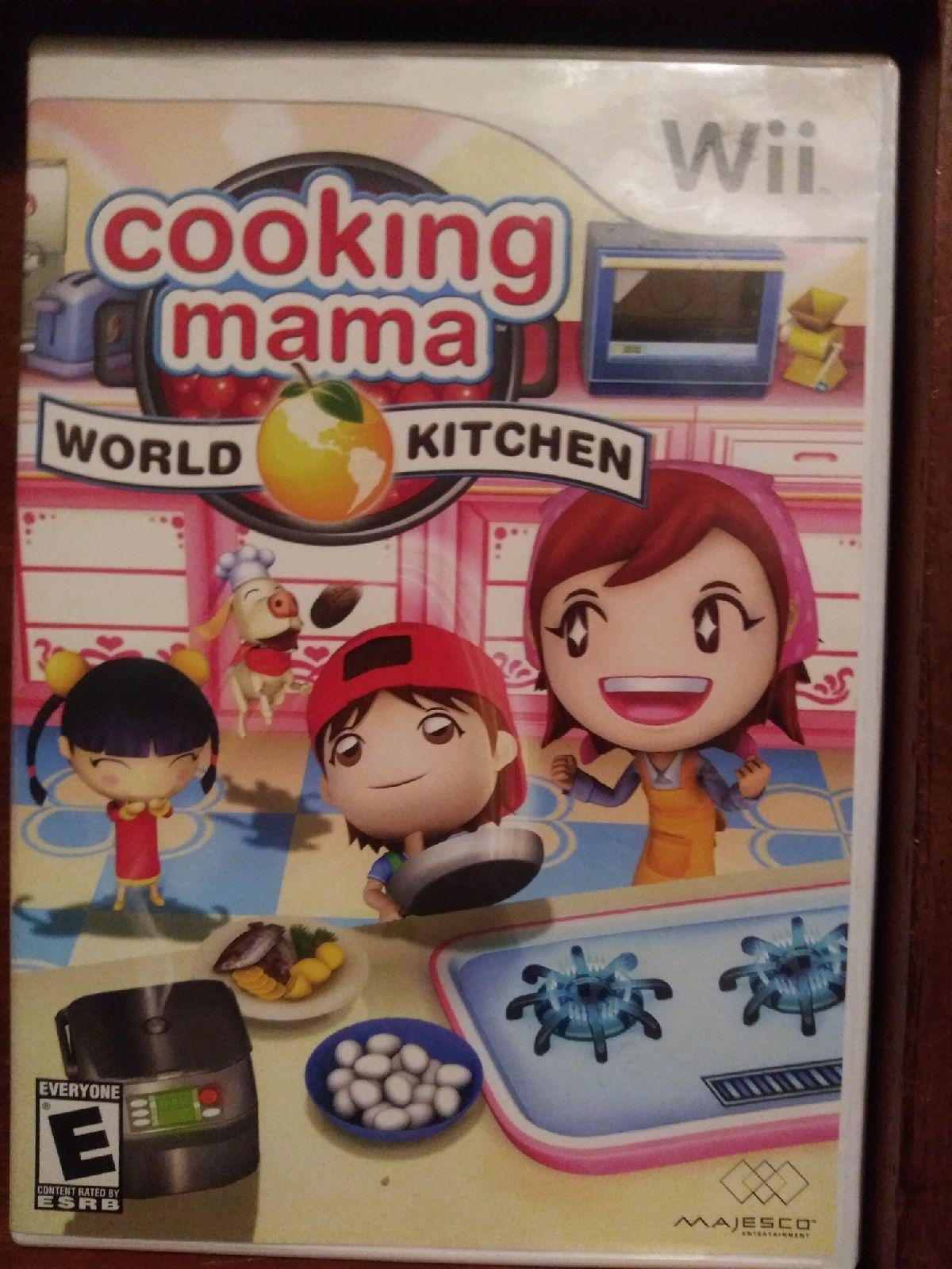 Cooking Mama World Kitchen (Wii) in 2020 Wii games, Wii