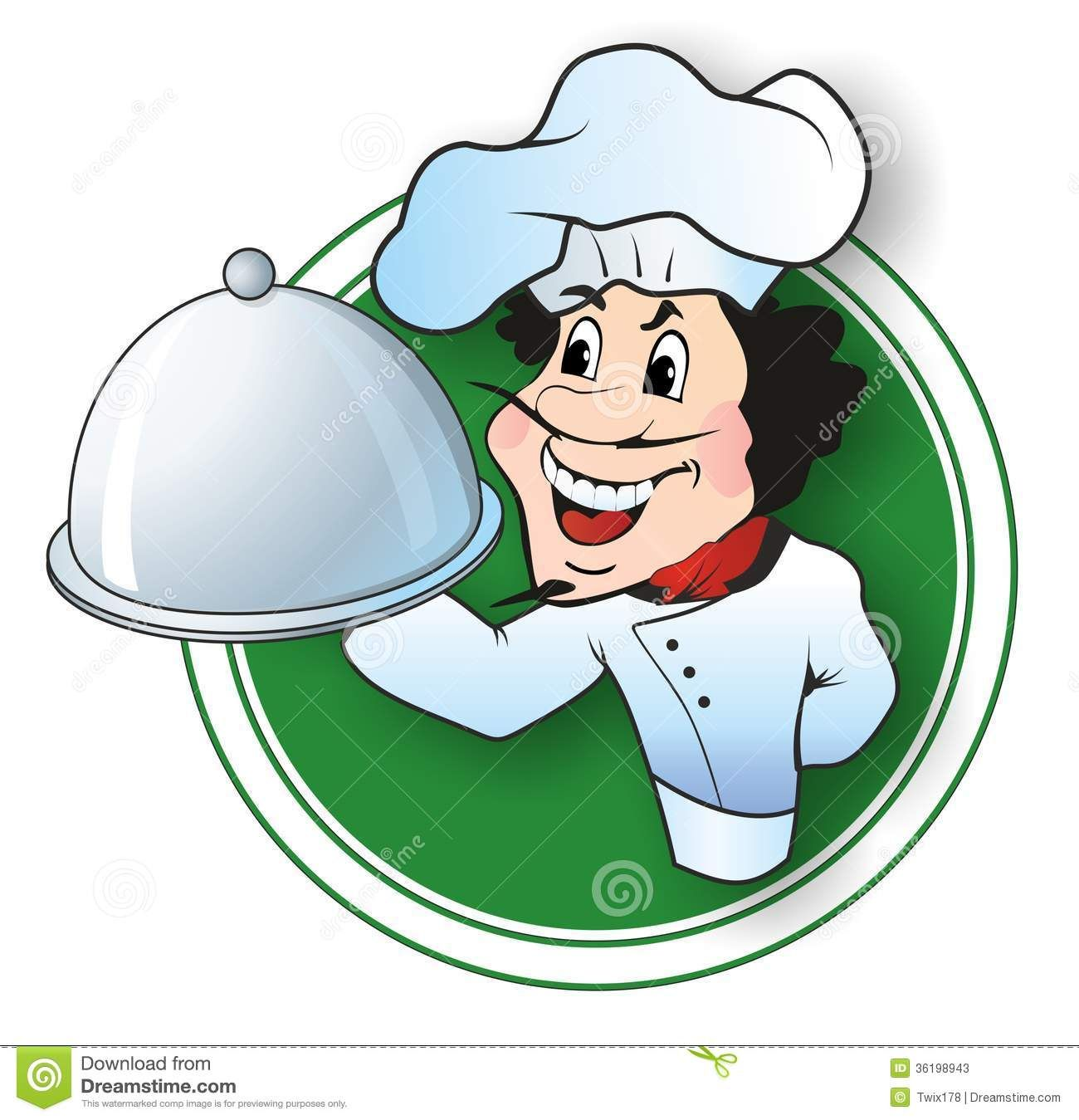 Chef Logo Stock Photos Images Pictures 100 Images Gambar Animasi Lucu