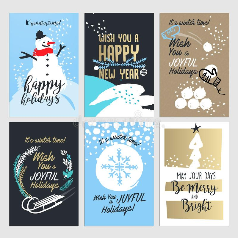 Image Result For Corporate Holiday Card Design Happy Holiday Greeting Cards Happy Holidays Greetings Free Printable Greeting Cards