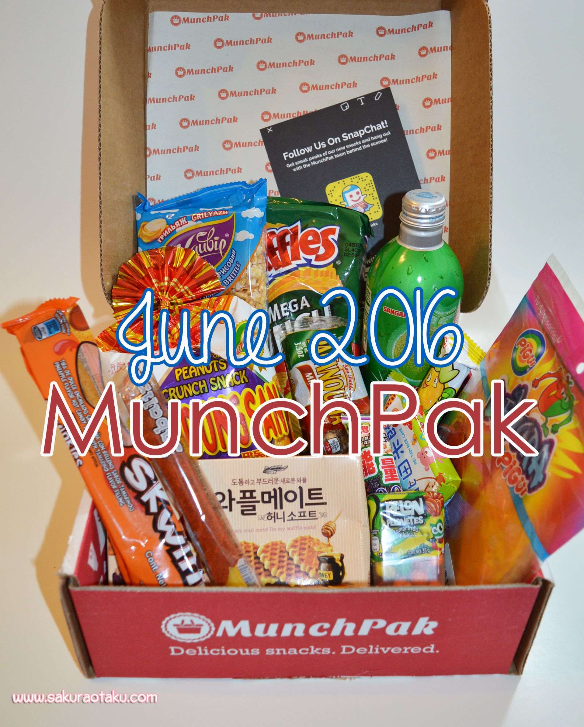 This subscription box is full of snacks from around the world that you can buy weekly bi-weekly or monthly. MunchPak | Mexican Snacks | Mexican Candy ...  sc 1 st  Pinterest & The June 2016 MunchPak box review is here! This subscription box ... Aboutintivar.Com