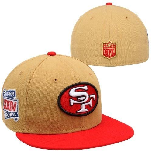 def1f0884 New Era San Francisco 49ers Super Bowl XXIV Side Patcher 59FIFTY ...