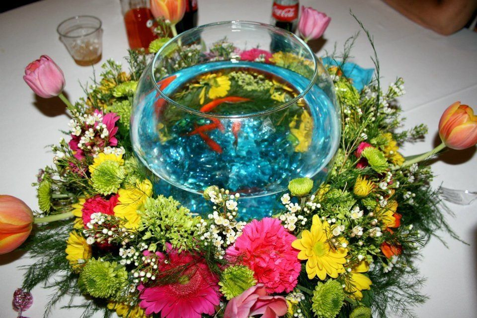 Crazy Cool Goldfish Centerpiece (With Images)