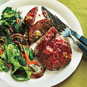 Cheesy Meat Loaf Minis | CookingLight.com