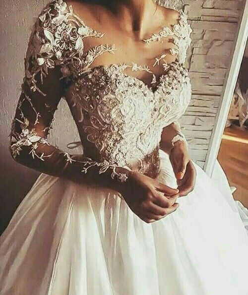 Pin By Angelita Barajas On Dress To Kill Wedding Dress Long Sleeve Wedding Dresses Elegant Wedding Dress