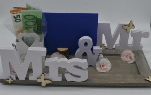 Geschenk Hochzeit Geldgeschenk Mr Mrs Geld Hochzeitsgeschenk In