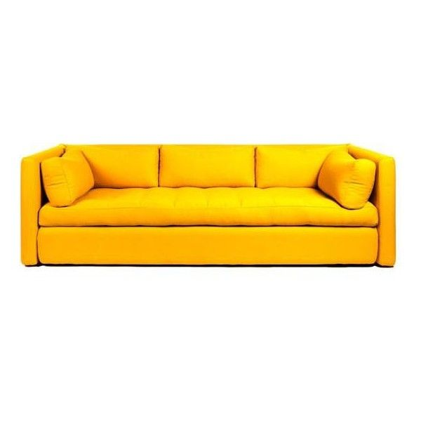 HAY Hackney Sofa 3 Seat (€4.035) ❤ liked on Polyvore featuring home, furniture, sofas, three seater sofa, 3 seater sofa and 3 seater couch