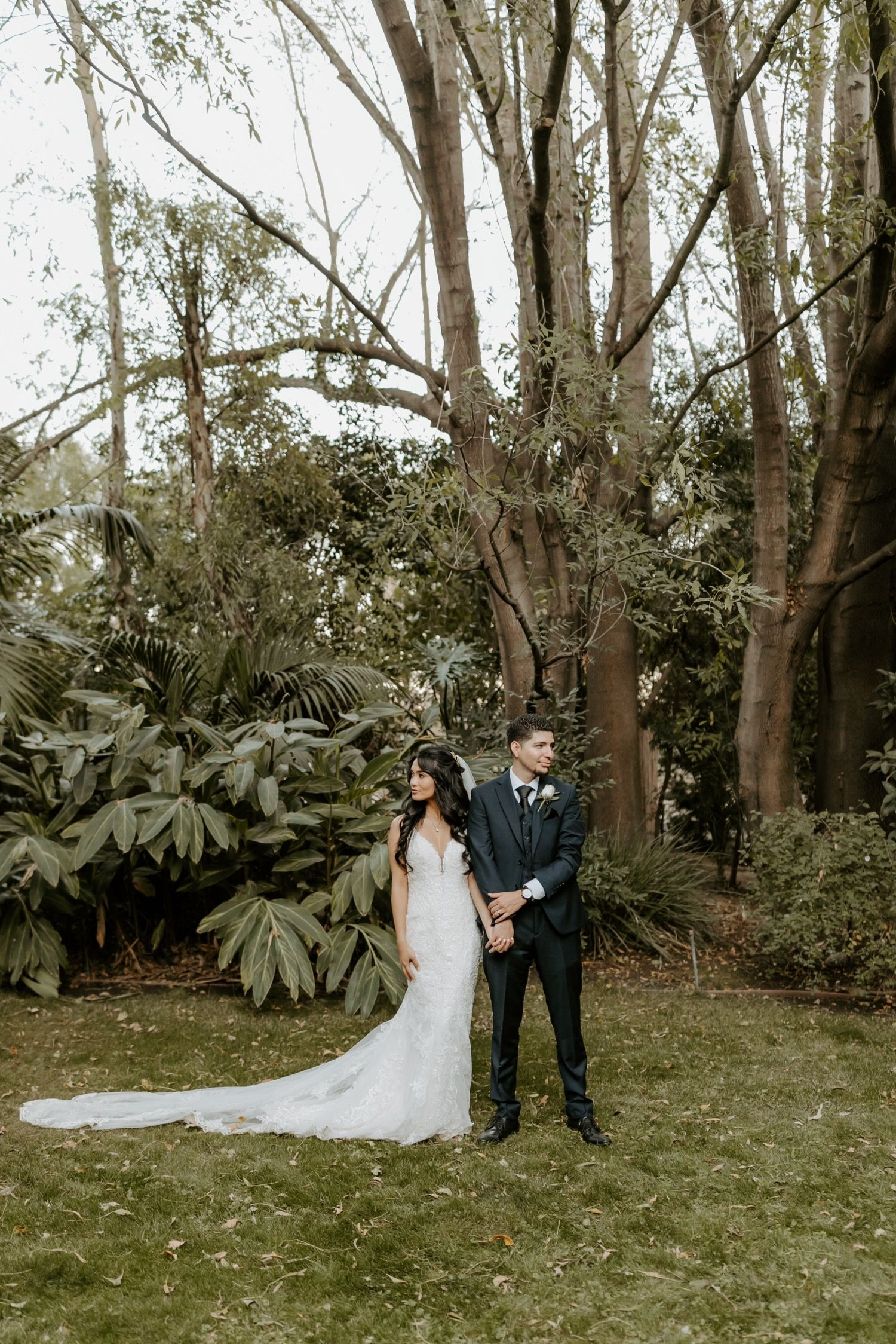 8 years late in a garden paradise | Forest wedding venue ...