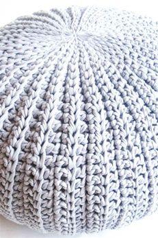 Pattern Haakpatroon Ribbelpoef Echtstudio Maken Pinterest