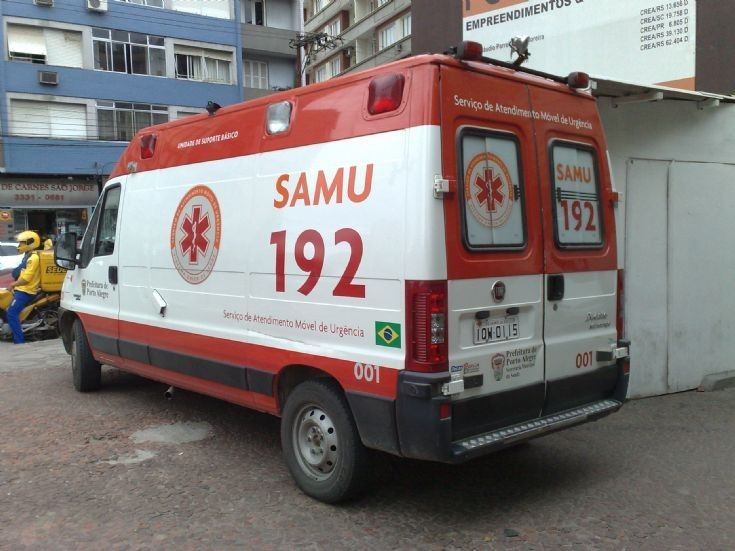 Another Vehicle Variation Used By Samu In Porto Alegre Rs Brazil