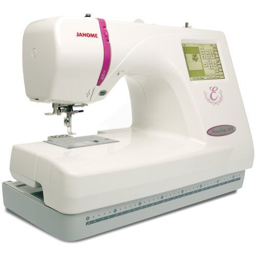 The Janome Memory Craft 350E makes it easier than ever to do professional looking embroidery on a stand-alone machine. With the ability to import designs via USB Memory Key, accura