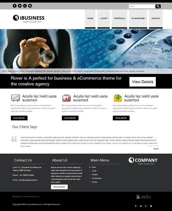 Free Joomla Templates | Joomla Templates | Pinterest | Template