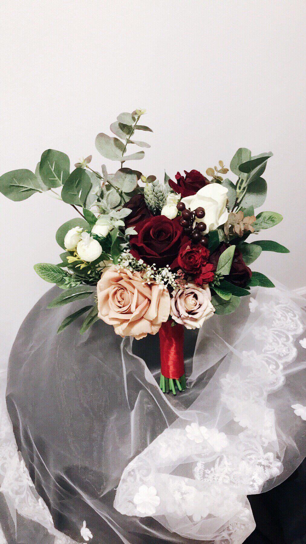 Wedding Bouquets, Bridal Bridesmaids Bouquets, Winter