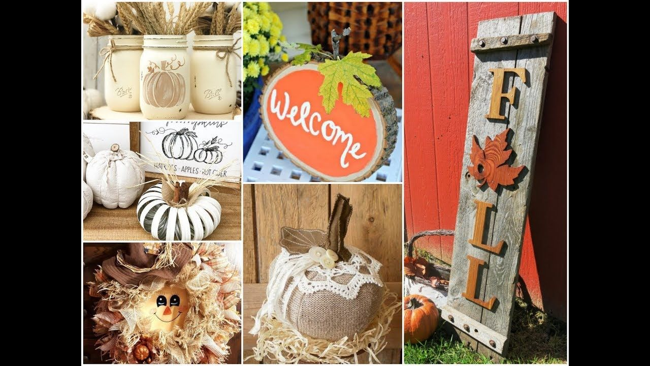 50 Awesome Fall Crafts Ideas To Make And Sell 2018 Cute Diy