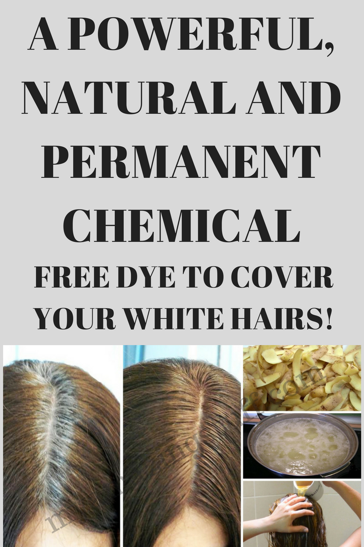 chemical free hair dye for grey hair