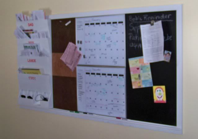 family message center | Home organization - memo board in kitchen? - Kitchens Forum ...