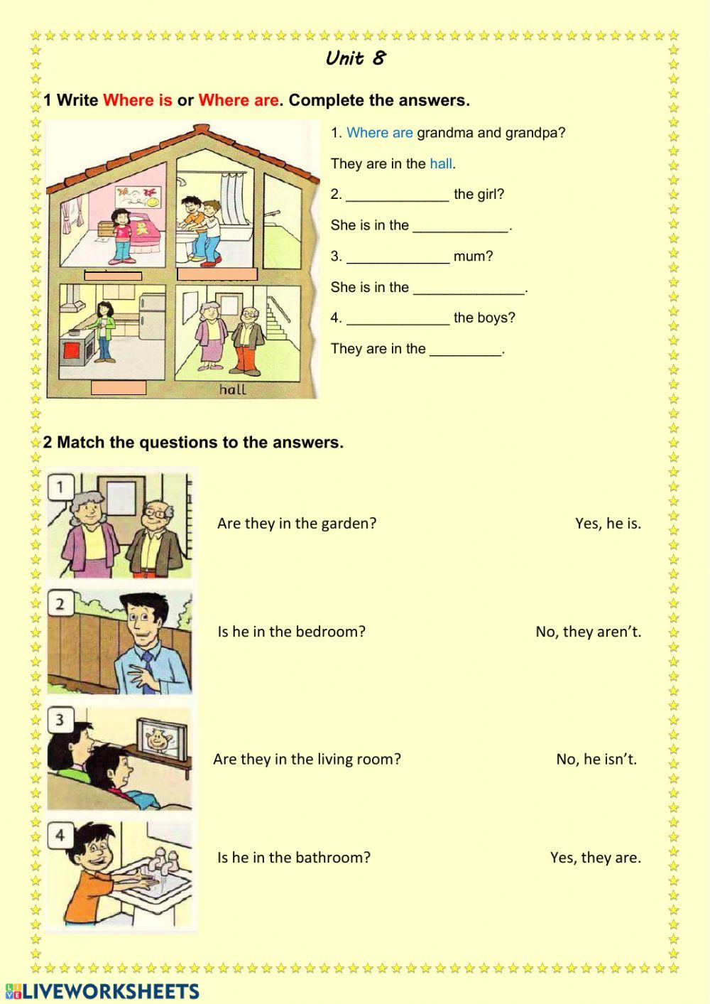 Questions Where Is Where Are Interactive Worksheet This Or That Questions Weather Worksheets Kindergarten Worksheets Printable [ 1413 x 1000 Pixel ]