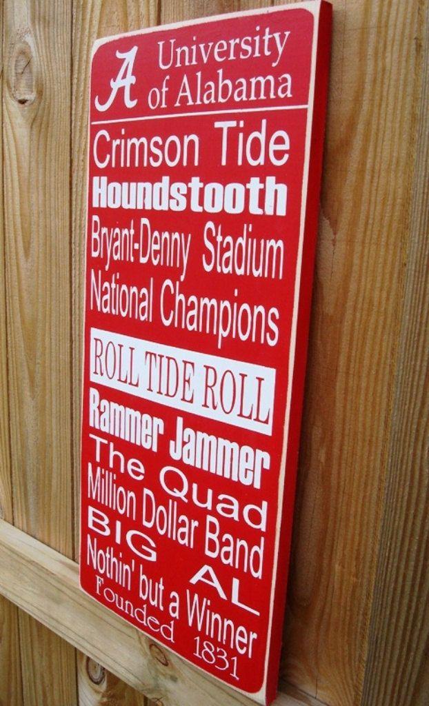38e8ad152c98 University of Alabama Subway Art Sign