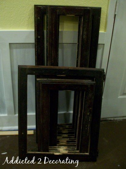Turn Raised Panel Cabinet Doors Into Recessed Panel Doors - Addicted 2 Decorating®