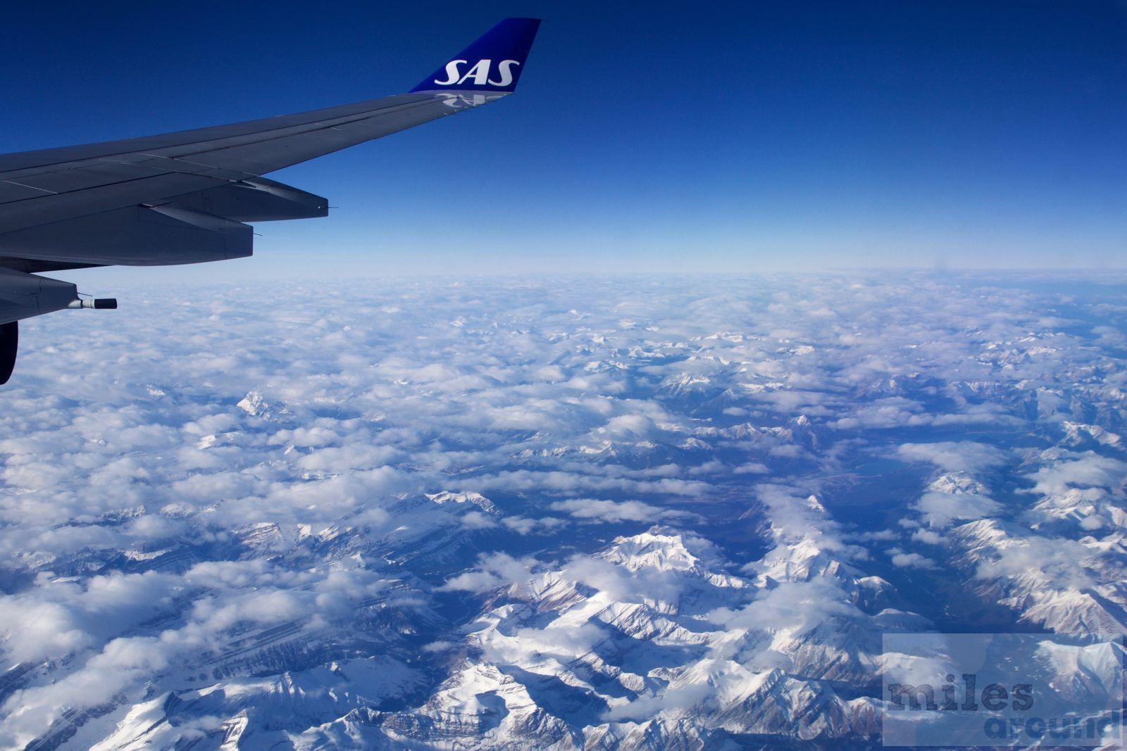 SAS Go in der Airbus A340300 nach San Francisco (Trip