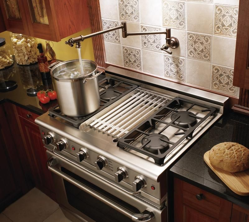 Water Faucet Over Stove Pot Filler Kitchen Kitchen Design