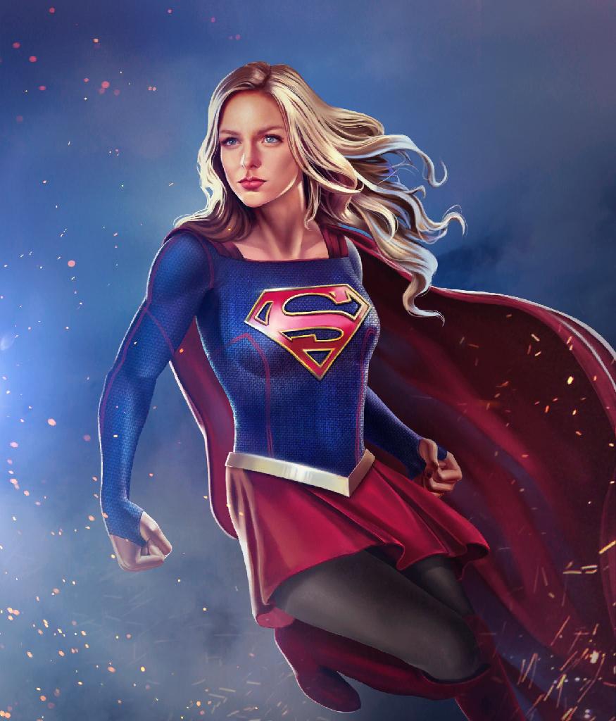 Artstation Supergirl Injustice 2 Melissa Benoist Fan Art Red Bakhmutov Supergirl Comic Supergirl Pictures Dc Comics Girls