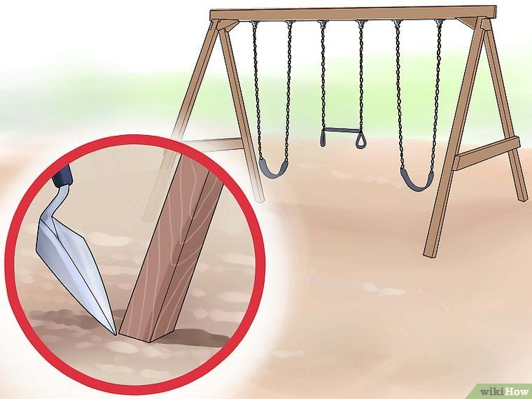 Park Art My WordPress Blog_How To Anchor A Swing Set To Concrete