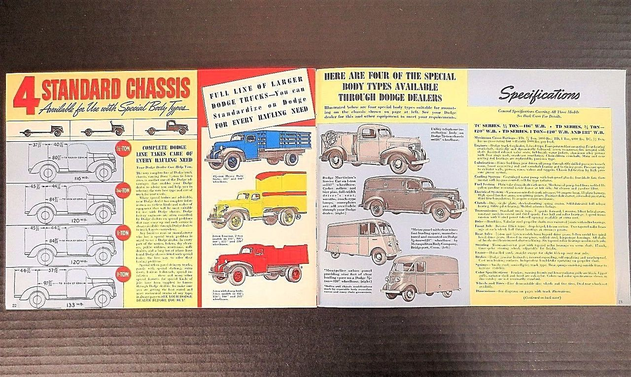 1939 1947 Dodge Plymouth Fargo Trucks Photo Fargo Truck Dodge Plymouth