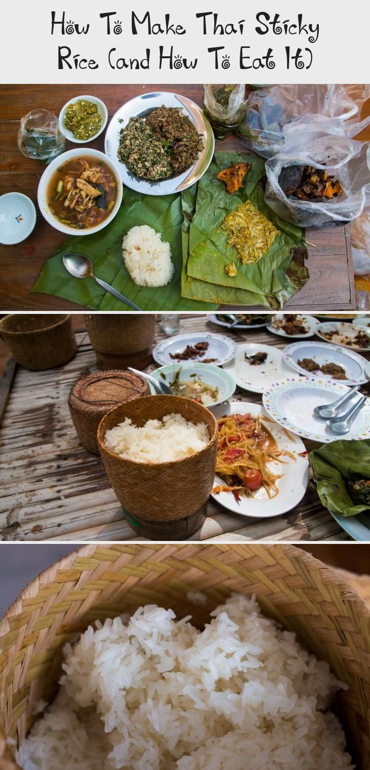 In this recipe, learn how to make sticky rice, the