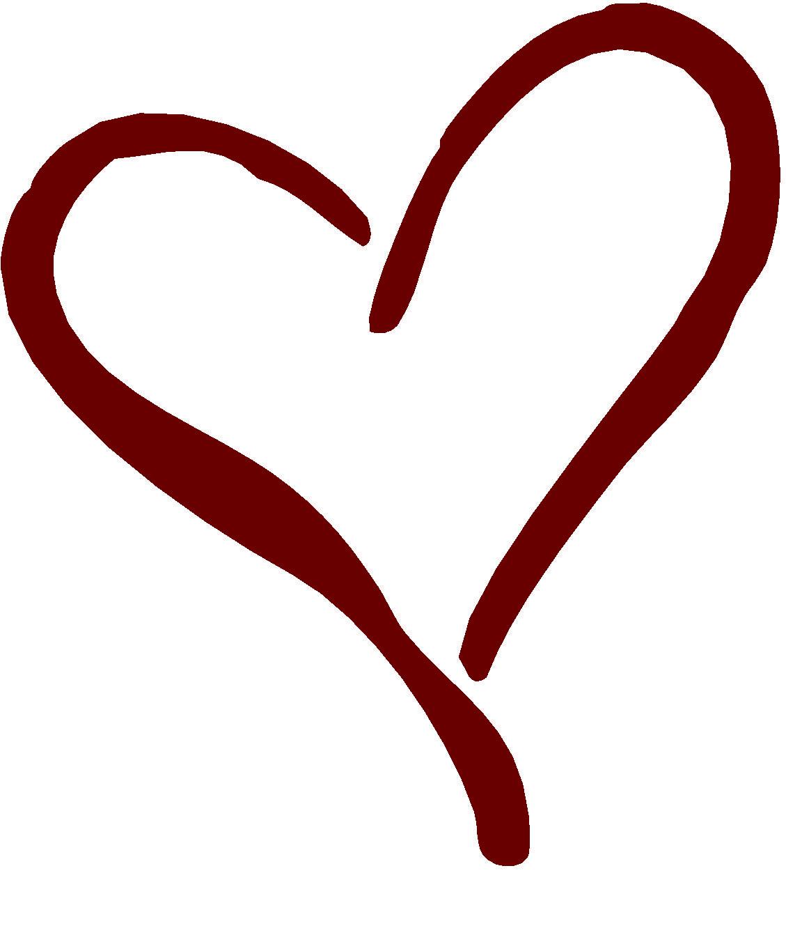Fancy Heart Clip Art - ClipArt Best | GINGERS HEART ...