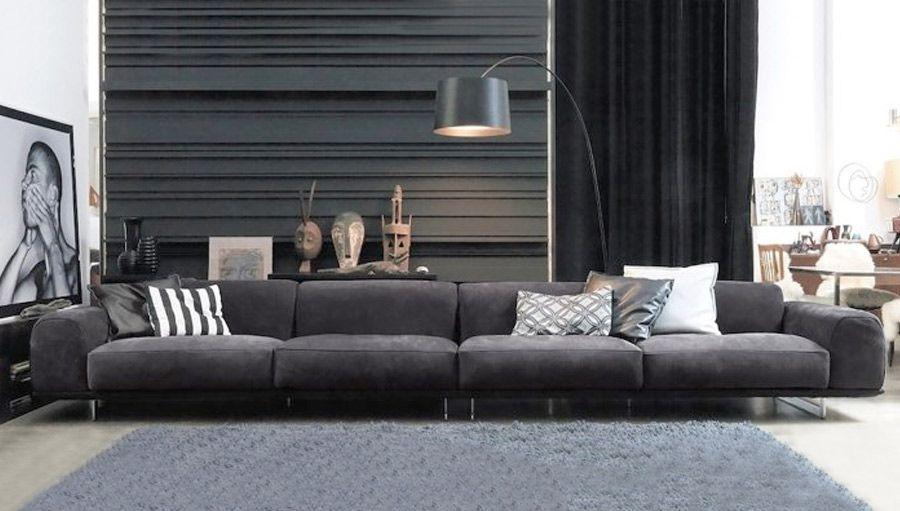 #brandy #sofa #gammainternational #StudioVigano #leather #luxury #design #contemporary