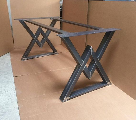 The diamond dining table base industrial base sturdy for How to make a sturdy table base