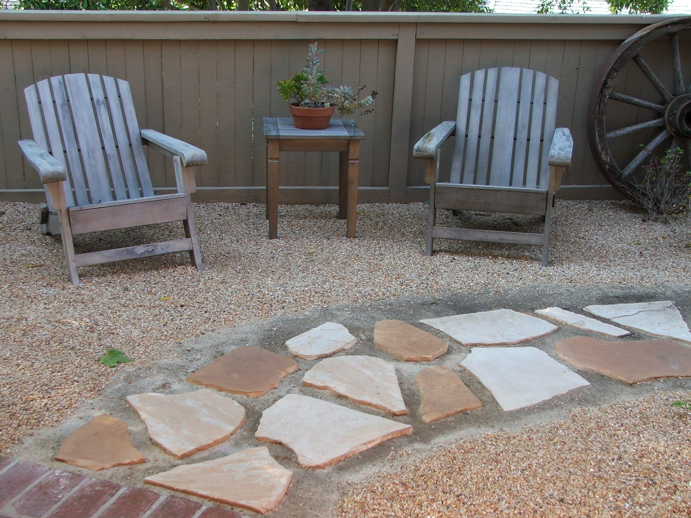 Front Yard Xeriscape Ideas Flagstone Pavers Smooth 400 x 300