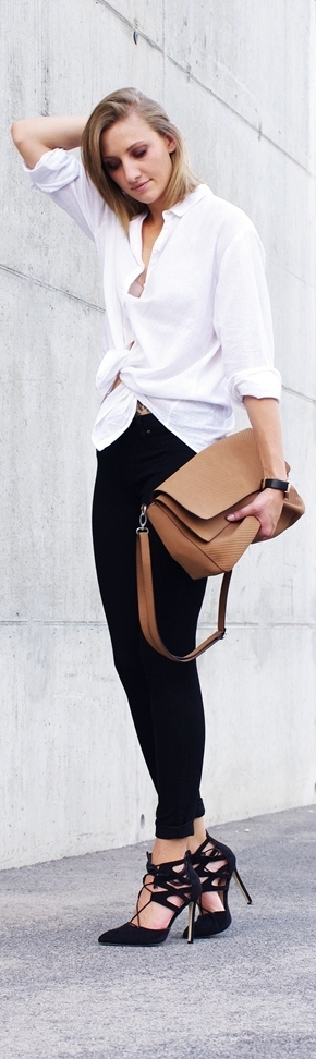 Camel Bag / Fashion By Katiquette Style