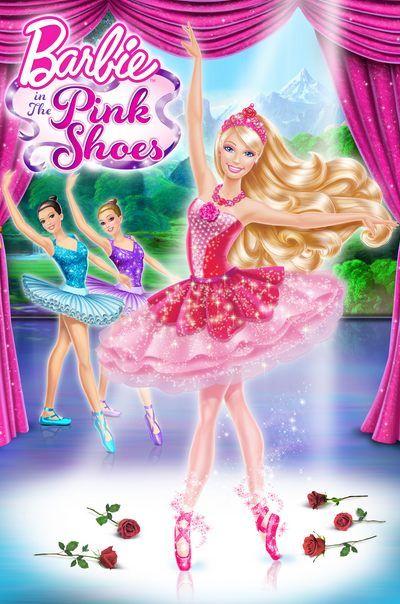 شاهد فلم باربي والاحذية الوردية Barbie In The Pink Shoes 2013 مدبلج عربي Pink Shoes Barbie Pink Barbie
