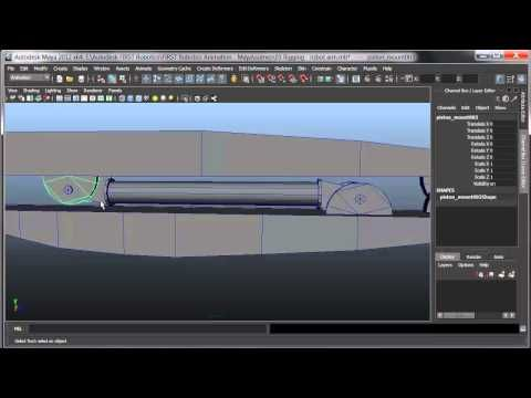 30 Second Animation: Rigging Mechanical Objects in Maya - YouTube