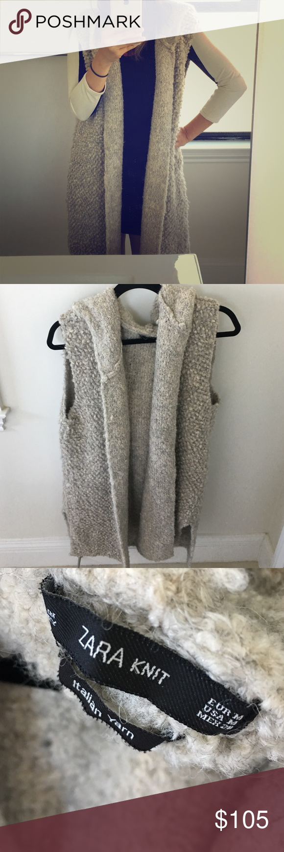 Beautiful Italian yarn knit long sweater vest | Long sweaters ...