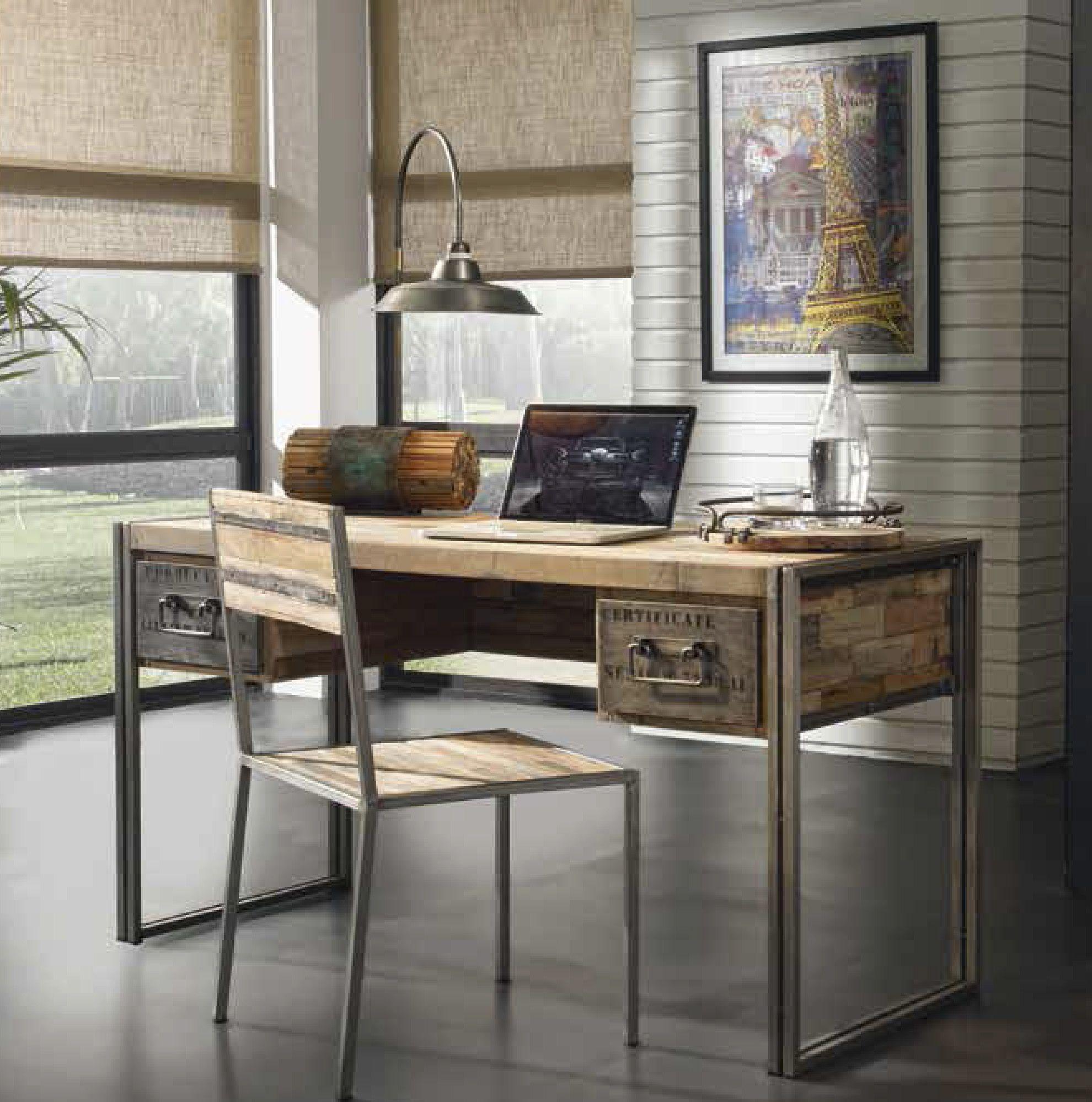 Mesa de estudio mesas muebles de dise o industrial for Muebles de diseno industrial