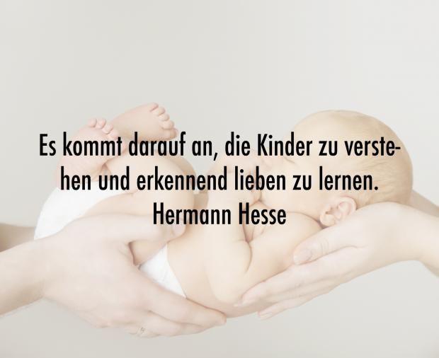 Schöne Sprüche Zur Geburt Baby Pinterest Hermann Hesse