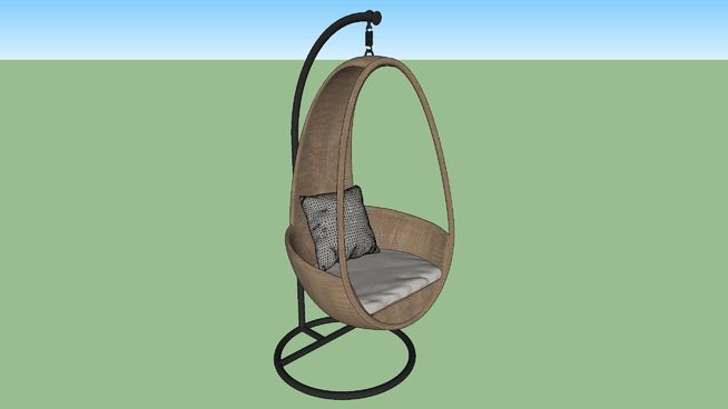 Swing Chair 3d Warehouse In 2020 Swinging Chair Chair Hanging Chair