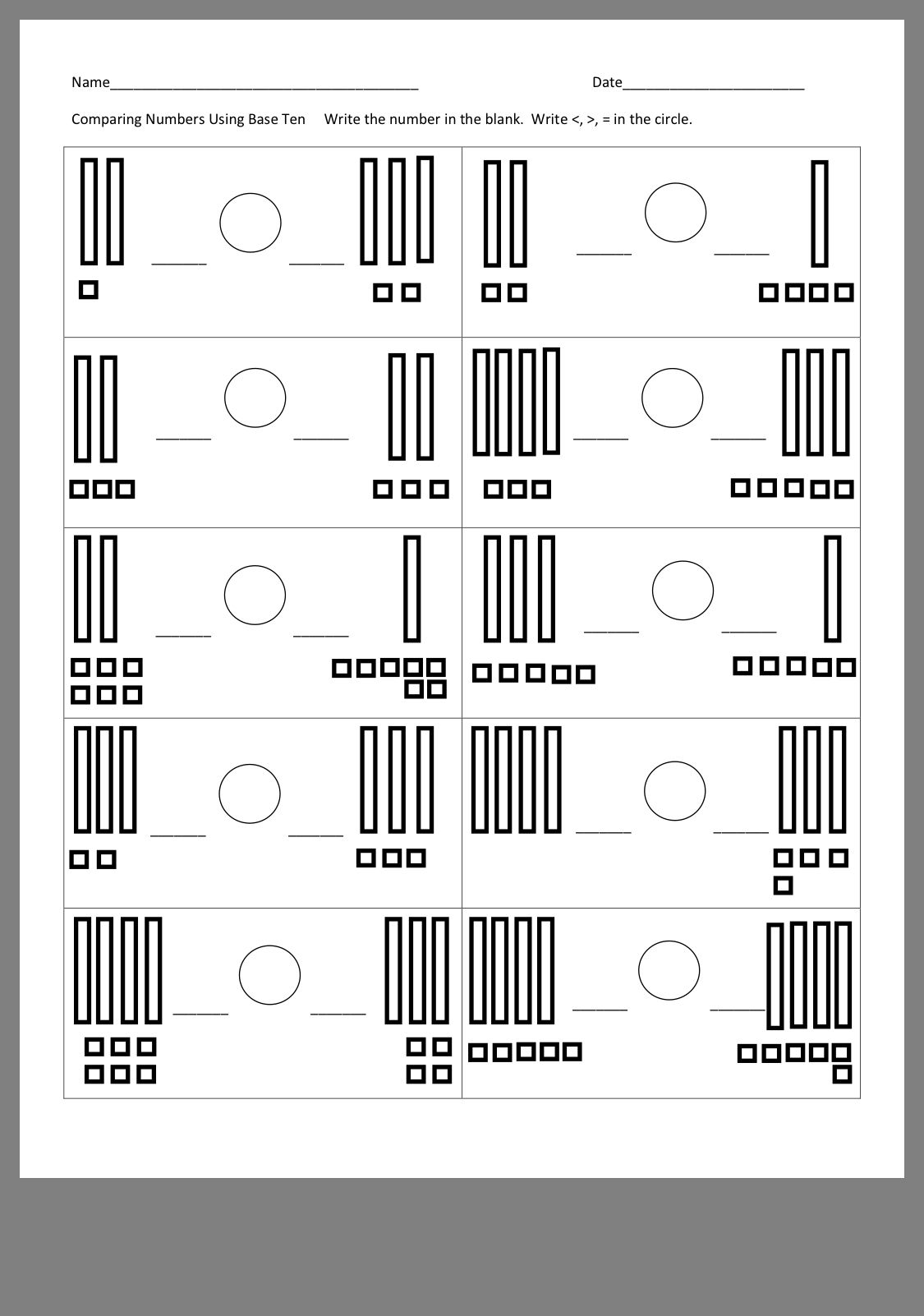 Pin By Asimina Karapanagiotides On Mrskpas First Grade First Grade Comparing Numbers Writing [ 1602 x 1125 Pixel ]