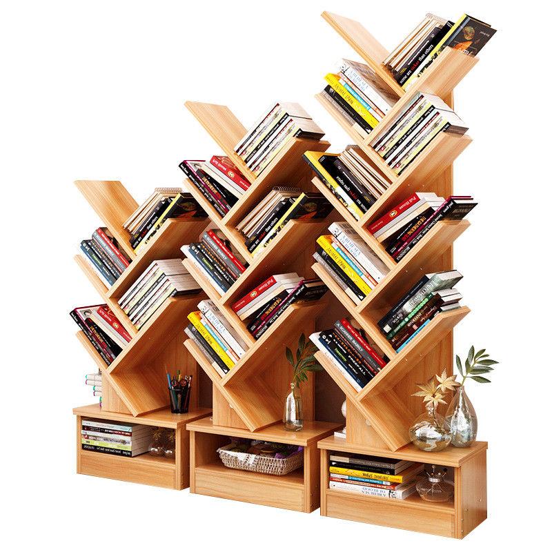 Tree Bookshelf Compact Book Rack Bookcase Display Storage Furniture For Cds Movies Books 5 Shelf Walmart Com Bookshelves Diy Tree Bookshelf Diy Bookshelf Design